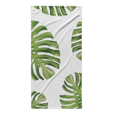 Despina Side Palms Beach Towel