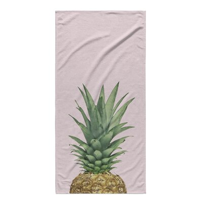 Jonell Pineapple Top Beach Towel