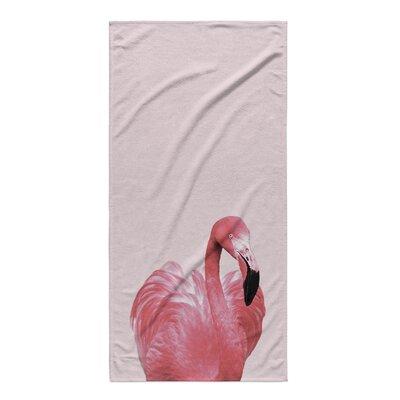 Kyoko Flamingo Beach Towel