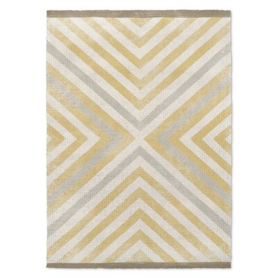 Setsuko Beige Area Rug Size: Rectangle 3 x 5