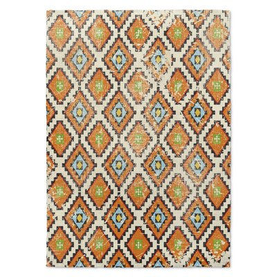 Varasteh Orange Area Rug Size: Rectangle 5 x 7