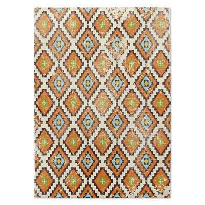 Varasteh Orange Area Rug Size: Rectangle 8 x 10