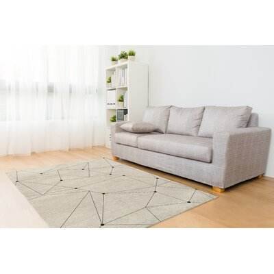 Waterside Orion Ivory Area Rug Size: Rectangle 5 x 7