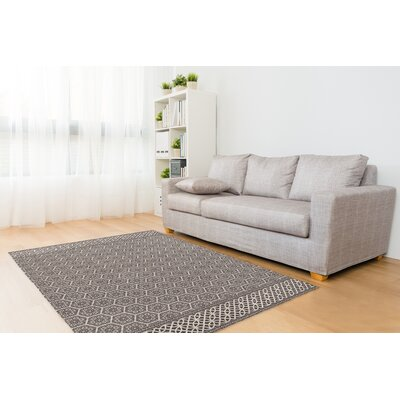 Draven Brown Area Rug Rug Size: 8 x 10