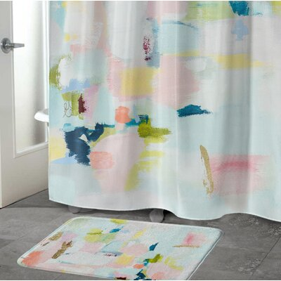 Luck Memory Foam Bath Rug Size: 17 W x 24 L