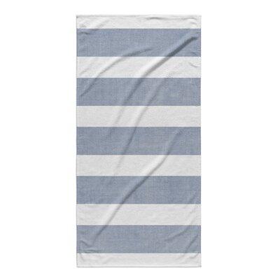 Centerville Beach Towel Color: Blue/ White