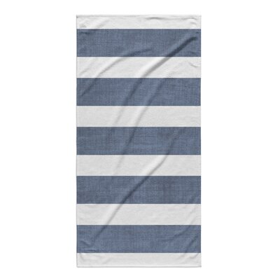 Centerville Beach Towel Color: Blue/ White/ Grey