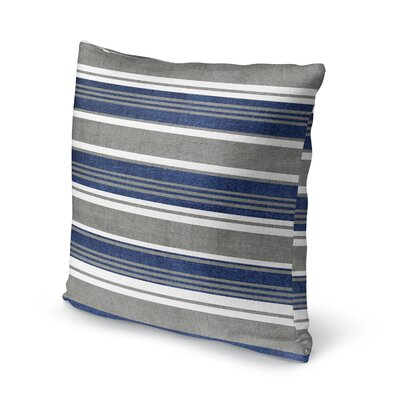 Sagamore Accent Pillow Size: 18 H x 18 W x 5 D, Color: Blue/ Grey