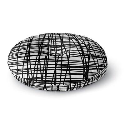 Staudt Lines Outdoor Floor Pillow Size: 23 x 23
