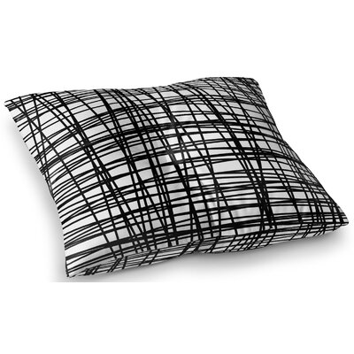 Staudt Lines Outdoor Floor Pillow Size: 23 x 23