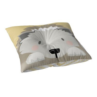 Rindge Hedgehog Outdoor Floor Pillow Size: 23 x 23
