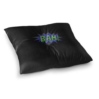 Bam Outdoor Floor Pillow Size: 23 x 23