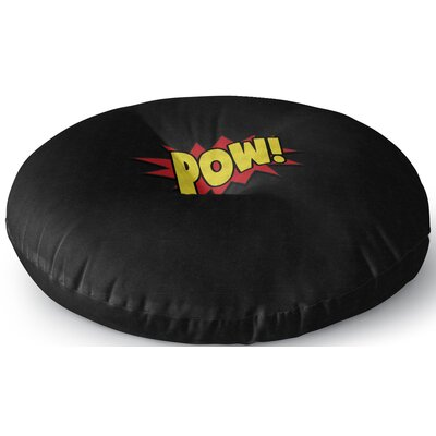 Steffen Pow Outdoor Floor Pillow Size: 23 x 23
