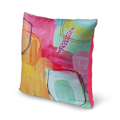 Chauntel Throw Pillow Size: 16