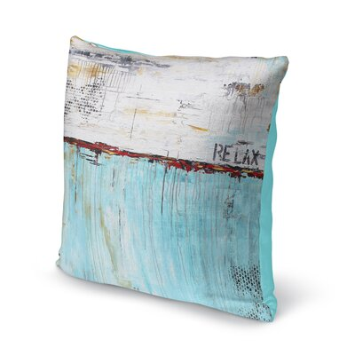 Charis Relax Throw Pillow Size: 16 x 16