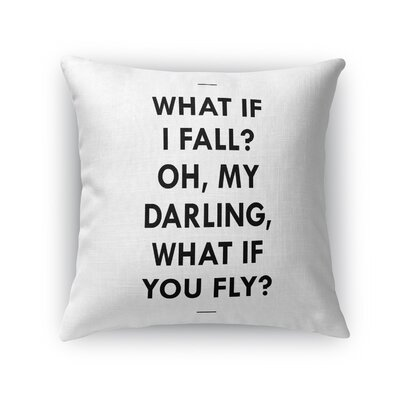 Gilmore What If Throw Pillow Size: 16 x 16
