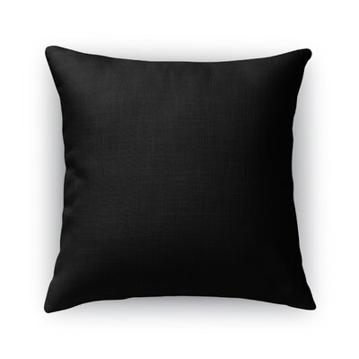 Rosena B and W Throw Pillow Size: 24 x 24