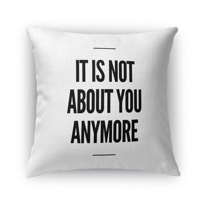 Rosenda Anymore Throw Pillow Size: 16