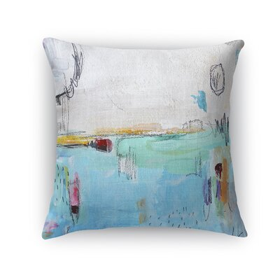 Rosamaria Throw Pillow Size: 18 x 18