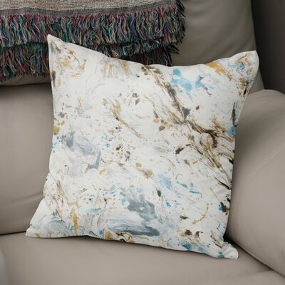 Swaney Throw Pillow Size: 18 x 18