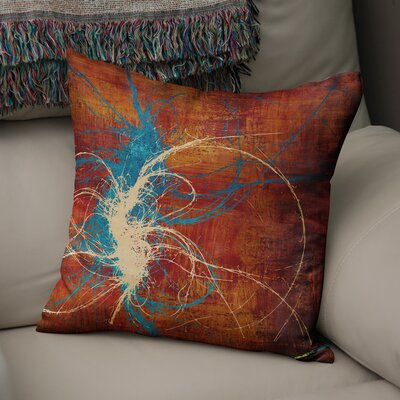Eells Throw Pillow Size: 18 x 18