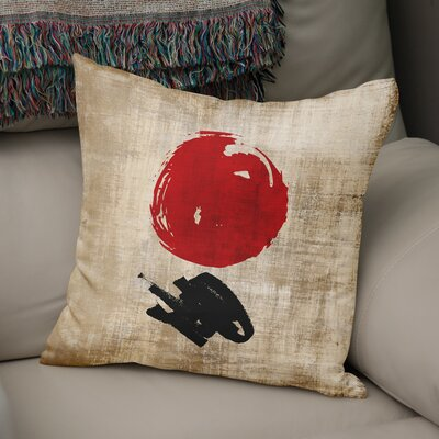 Eger Throw Pillow Size: 18 x 18