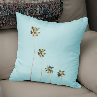 Four Palms Accent Pillow Size: 18 H x 18 W x 5 D