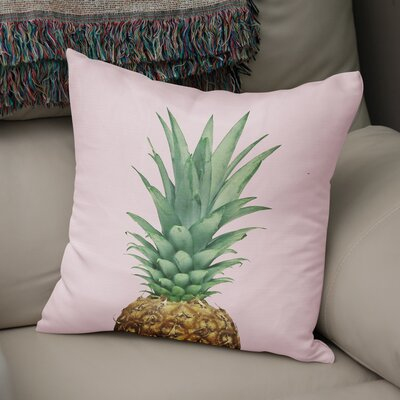 Pineapple Top Accent Pillow Size: 18 H x 18 W x 5 D