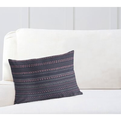 Christenson Throw Pillow Color: Bue/Pink/Purple, Size: 18 x 24
