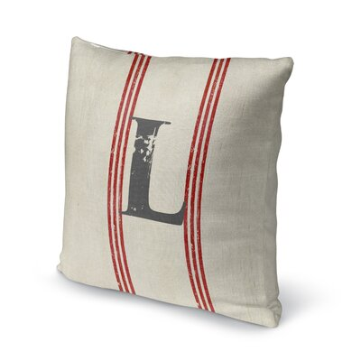 Fleece Throw Pillow Size: 16