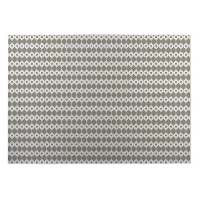 Forest Rain Gray/Beige Indoor/Outdoor Doormat Rug Size: Rectangle 4 x 5