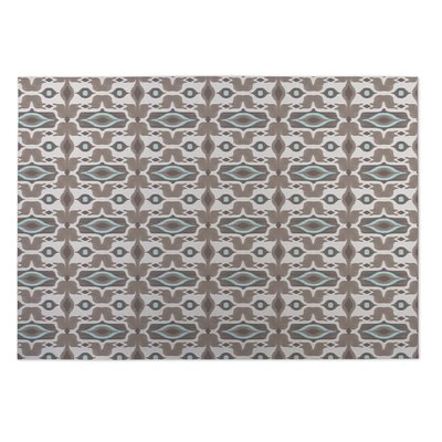 Gosnells Beige/Brown Indoor/Outdoor Doormat Rug Size: Square 8