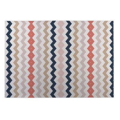 Play Chevron Utility Mat Rug Size: Rectangle 4 x 5