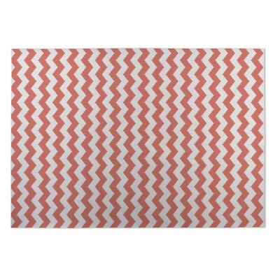 Play Chevron Utility Mat Mat Size: Rectangle 8 x 10
