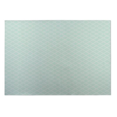 Lattice Work Utility Mat Rug Size: Rectangle 5 x 7