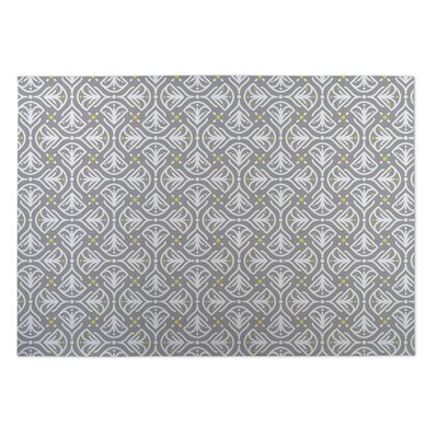 Kissing Tulips Utility Mat Mat Size: Rectangle 4 x 5