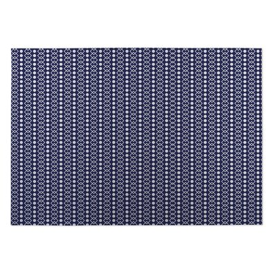 Chains with Dots Indoor/Outdoor Doormat Mat Size: Square 8