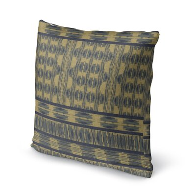 Appa Accent Pillow Size: 24 H x 24 W x 5 D, Color: Blue/ Beige