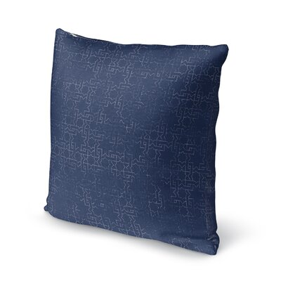 Gridlocked Accent Pillow Size: 16 H x 16 W x 5 D