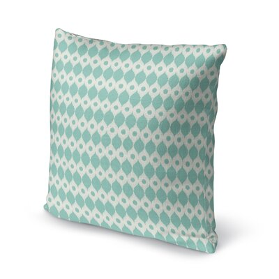 Forrest Rain Accent Pillow Size: 16 H x 16 W x 5 D, Color: Blue/ Ivory