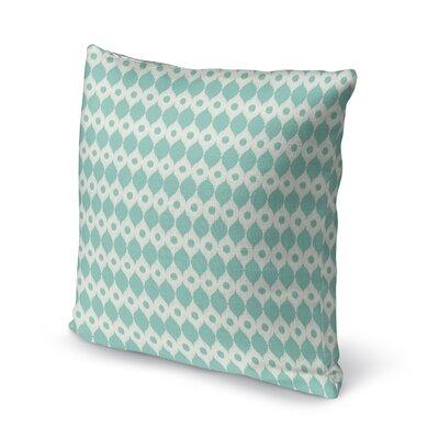 Forrest Rain Accent Pillow Size: 18 H x 18 W x 5 D, Color: Blue/ Ivory