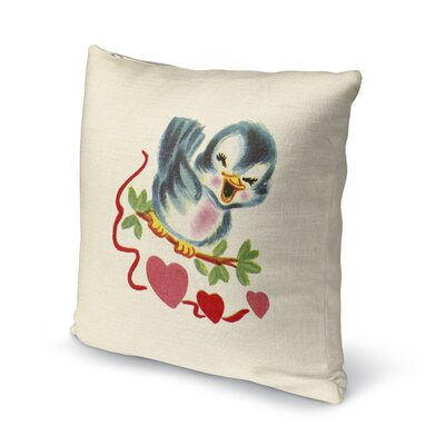 Be Mine Indoor Accent Pillow Size: 18 H x 18 W