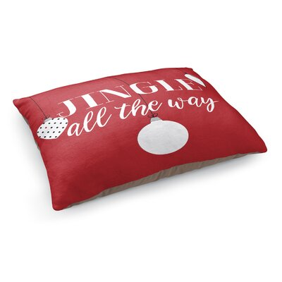 Jingle All the Way Pet Bed Pillow