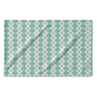 Forrest Rain Hand Towel Color: Blue/ Ivory