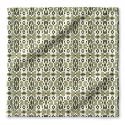 Cosmos Wash Cloth Color: Green/ Ivory
