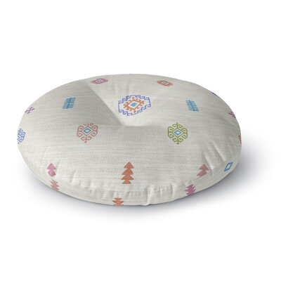 Floor Pillow Size: 26 H x 26 W, Color: Beige