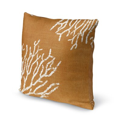 Sultana Accent Pillow Size: 18 H x 18 W x 5 D, Color: Orange