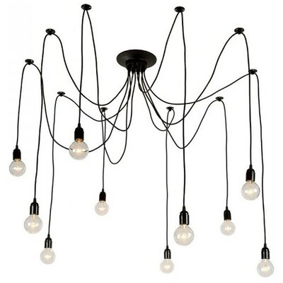 Defrancisco 10-Light Candle-Style Chandelier