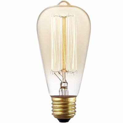 40W Gold E26/Medium Light Bulb