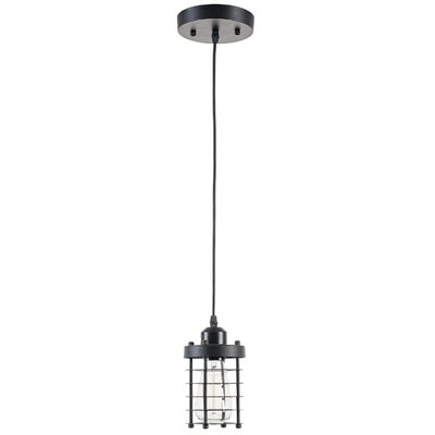 Cage 1-Light Foyer Pendant